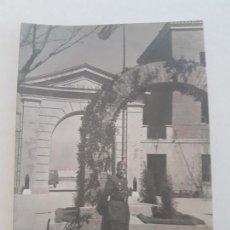 Fotografía antigua: RETRATO MILITAR REGIMIENTO ARTILLERÍA ANTIAEREA MADRID FOTOGRAFIA AÑOS 50. Lote 135673971