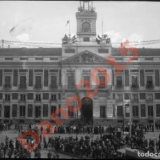 Fotografía antigua: MADRID - FOTOGRAFIA ANTIGUA - NEGATIVO DE CRISTAL. Lote 135768038