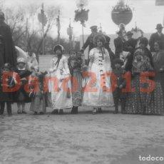 Alte Fotografie - Madrid 1927 Carnaval - Fotografia Antigua - Negativo de Cristal - 136034534