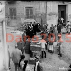 Fotografía antigua: REPARTO DE PAN, SEGUNDA REPUBLICA MADRID - NEGATIVO DE CRISTAL - FOTOGRAFIA ANTIGUA. Lote 136259042