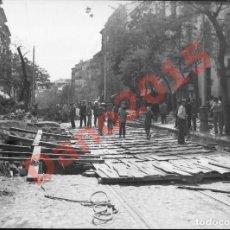 Fotografía antigua: MADRID 1921 CALLE ATOCHA - FOTOGRAFIA ANTIGUA - NEGATIVO DE CRISTAL. Lote 136376430