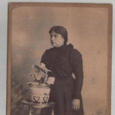 Fotografía antigua: FOTOGRAFIA FECHADA EN 1902 NATEO RICCIARDI BUENOS AIRES ENTRERIOS 555. Lote 136561126