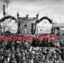 Fotografía antigua: ZARAGOZA 1915 GALLUR VISITA DEL MINISTRO DE FOMENTO - FOTOGRAFIA ANTIGUA - NEGATIVO DE CRISTAL. Lote 137734090