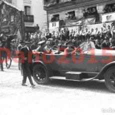 Fotografía antigua: ALFONSO XIII EN CIUDAD RODRIGO, SALAMANCA - FOTOGRAFIA ANTIGUA - NEGATIVO DE CRISTAL. Lote 139176010