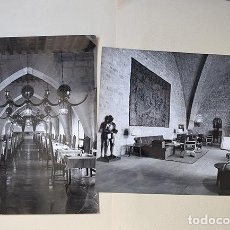 Fotografía antigua: JAÉN. PARADOR NACIONAL CASTILLO DE SANTA CATALINA – 2 COPIAS VINTAGE. Lote 139242326