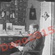 Fotografía antigua: CAPITAN GENERAL VALERIANO WEYLER - NEGATIVO DE CRISTAL - FOTOGRAFÍA ANTIGUA. Lote 139711482