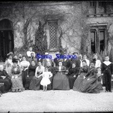 Fotografía antigua: PALACIO TORRE VELLISCA, VALENCIA. MAS TARDE BODEGAS - CRISTAL NEGATIVO - AÑO 1906. Lote 139735414