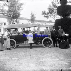 Fotografía antigua: PALACIO TORRE VELLISCA, COCHE. VALENCIA. MAS TARDE BODEGAS - CRISTAL NEGATIVO -PRINCIPIO 1900. Lote 139736326