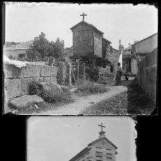 Fotografía antigua: ESPAÑA. GALICIA, ARAGÓN Y OTROS, 1930S. LOTE DE 22 CRISTALES NEGATIVOS 9X6,5 CM. VER FOTOS.. Lote 140202074