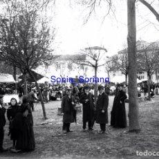 Fotografía antigua: GIJON, ASTURIAS. SEMANA DE LA AVIACION AVION - CRISTAL NEGATIVO - AÑO 1910. Lote 140211390