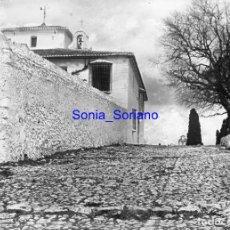 Fotografía antigua: ALMANSA? ALBACETE - CRISTAL NEGATIVO - PRINCIPIO DE 1900. Lote 140277434
