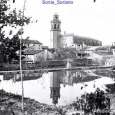 Fotografía antigua: BENIGANIM, VALENCIA. CRISTAL NEGATIVO - C.1900 - TAMAÑO GRANDE. Lote 140595326