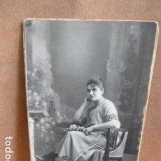 Fotografía antigua: FOTO SEÑORA -FOTO AMER -PALMA DE MALLORCA -. Lote 141970482
