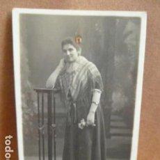 Fotografía antigua: FOTO SEÑORA -FOTO AMER -PALMA DE MALLORCA -. Lote 141970578