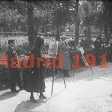 Alte Fotografie - Madrid 1918 - Negativo de Cristal - Fotografia Antigua - 142027802
