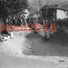 Fotografía antigua: POLA DE LENA 1934 REVOLUCION DE ASTURIAS - NEGATIVO DE CRISTAL - FOTOGRAFIA ANTIGUA. Lote 142030430