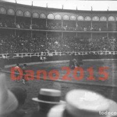 Fotografía antigua: PLAZA DE TOROS CUATRO CAMINOS SANTANDER 1916 - NEGATIVO DE CRISTAL - FOTOGRAFIA ANTIGUA. Lote 142034470