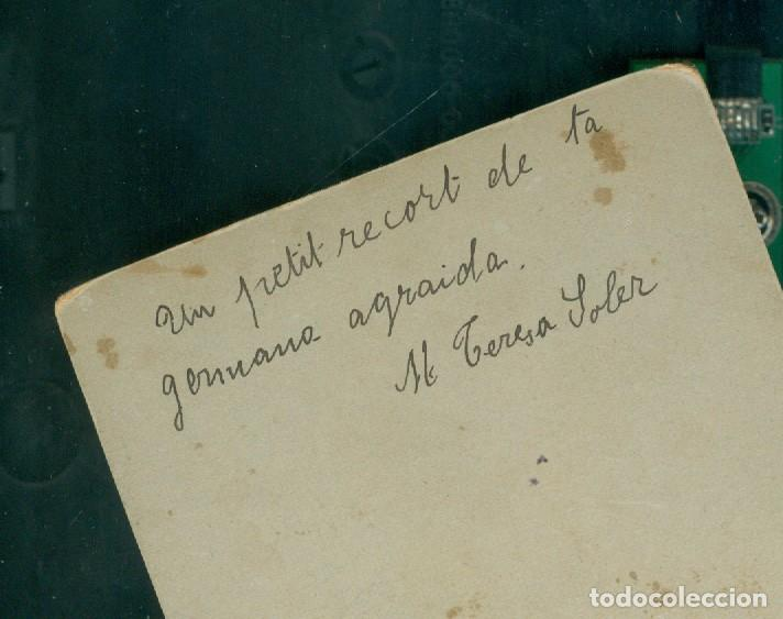 Fotografía antigua: RETRATO - 1910 - 1920 - M. TERESA SOLER - FOTOGRAFIA E. LORSON - Foto 2 - 142671270