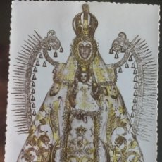 Fotografía antigua: FOTOGRAFIA DE LA VIRGEN DEL PRADO, PATRONA CIUDAD REAL COLOR CON BRILLOS.. Lote 142961482