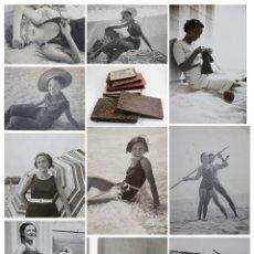 Fotografía antigua: PLAYAS Y BAÑISTAS, ESPAÑA 1920'S EN ADELANTE. CIENTOS DE FOTOGRAFÍAS EN 8 ÁLBUMES FAMILIARES. VER. Lote 143393694