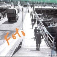 Fotografía antigua: PAÍS VASCO. ÉPOCA GUERRA CIVIL ESPAÑOLA. ANTIGUO NEGATIVO DE FOTOGRAFÍA. CLICHÉ.. Lote 143974938