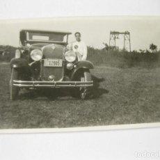 Fotografía antigua: FOTOGRAFÍA DE UN AUTOMOVIL CHEVROLET DE LOS AÑOS 30. Lote 144252326