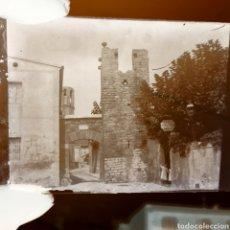 Fotografía antigua: PLACA NEGATIVO GELATINO BROMURO AÑO 1900 PEDRALVES. Lote 146565633