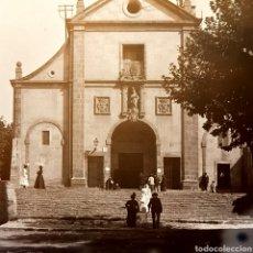 Fotografía antigua: PLACA NEGATIVO DE GELATINO BROMURO AÑO 1900 BARCELONA.. Lote 146566210