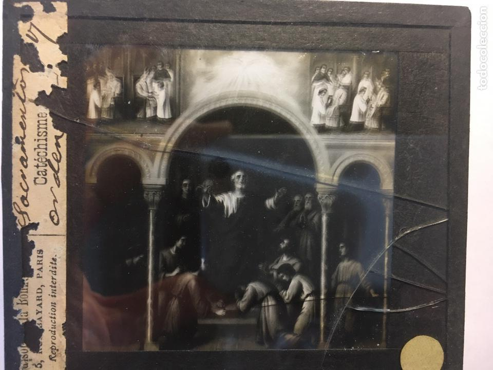Fotografía antigua: ANTIGUAS PLACAS DE GELATINA-BROMURO DE LA MAISON DE LA BONNE PRESSE-CATÉCHISME - Foto 4 - 146897030