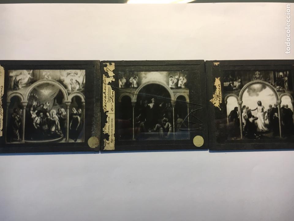 Fotografía antigua: ANTIGUAS PLACAS DE GELATINA-BROMURO DE LA MAISON DE LA BONNE PRESSE-CATÉCHISME - Foto 5 - 146897030