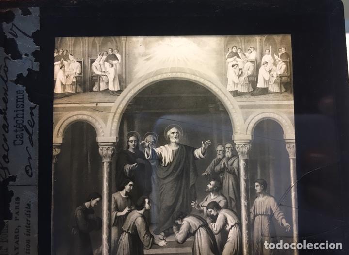 Fotografía antigua: ANTIGUAS PLACAS DE GELATINA-BROMURO DE LA MAISON DE LA BONNE PRESSE-CATÉCHISME - Foto 2 - 146897030