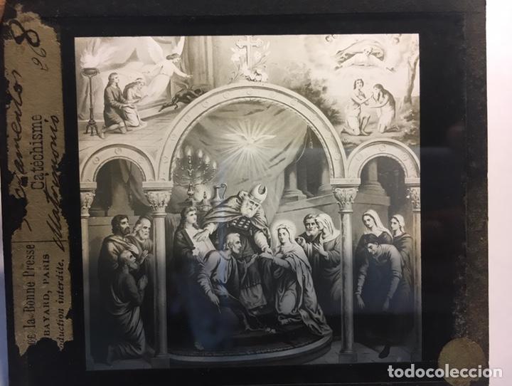 Fotografía antigua: ANTIGUAS PLACAS DE GELATINA-BROMURO DE LA MAISON DE LA BONNE PRESSE-CATÉCHISME - Foto 3 - 146897030
