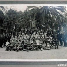 Fotografía antigua: SOCIEDAD CORAL ORFEO DE CATALUNYA. H. 1925. Lote 147230318