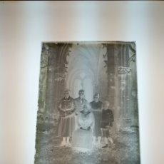 Fotografía antigua: GRAN PKACA GELATINO BROMURO NEGATIVO 18X13CM MONASTERIO BARCELONA. 1900. Lote 147518896