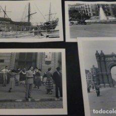 Fotografía antigua: BARCELONA 81 FOTOGRAFIAS AÑOS 50 POR VIAJERO ALEMAN. Lote 147863014
