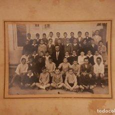 Fotografía antigua: GRUPO CLASE ESCOLAR . Lote 148008766