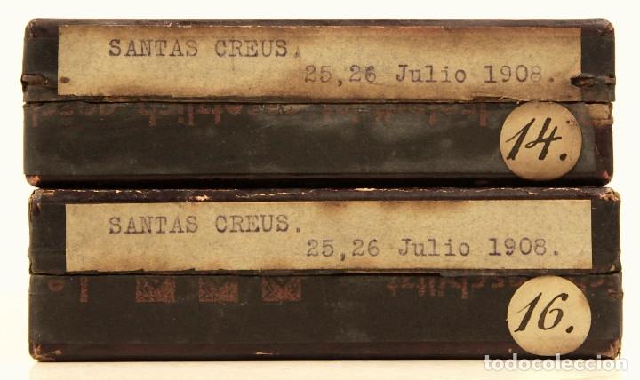 Fotografía antigua: Santes Creus, Tarragona, julio 1908. Lote de 27 cristales negativos 9x12 cm. - Foto 8 - 39751520