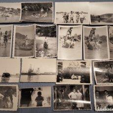 Fotografía antigua: LOTE DE MAS DE 130 FOTOS ESPAÑOLAS DE LOS AÑOS 50/60 BLANCO Y NEGRO - LUGARES Y GENTES ESPAÑA. Lote 151546398