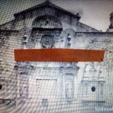 Fotografía antigua: CRISTAL NEGATIVO.PUERTA BARROCA, REAL MONASTERIO DE SANTA MARIA DE POBLET.TARRAGONA.CATALUÑA.. Lote 152832118