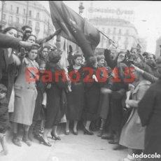 Fotografía antigua: GUERRA CIVIL ESPAÑOLA, MADRID - NEGATIVO DE CRISTAL - FOTOGRAFIA ANTIGUA. Lote 153035078
