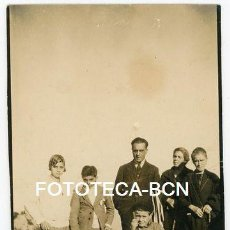 Fotografía antigua: FOTO ORIGINAL EXCURSIONISTAS EXCURSION CATALUNYA AÑOS 20. Lote 154600234
