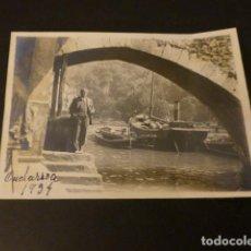 Fotografía antigua: ONDARROA VIZCAYA 1934 ANTIGUA FOTOGRAFIA 6 X 9 CMTS. Lote 154625418
