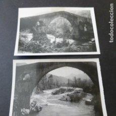 Fotografía antigua: CANGAS DE ONIS ASTURIAS 2 FOTOGRAFIAS ANTIGUAS 6 X 9 CMTS. Lote 154826174