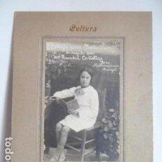 Fotografía antigua: FOTO DE NIÑA DEL COLEGIO LAS MALLORQUINAS MONGAT FOTOGRAFO F.ALEMANY. Lote 155179674