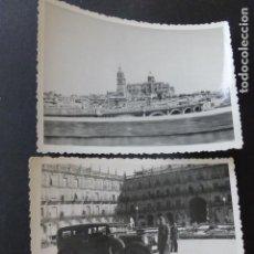 Fotografía antigua: SALAMANCA 2 FOTOGRAFIAS GUERRA CIVIL POR SOLDADO ALEMAN DE LA LEGION CONDOR. Lote 155795842