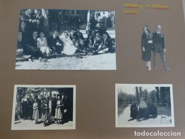 VILLIMER LEON 4 FOTOGRAFIAS POR EMBAJADOR BRITANICO EN ESPAÑA JOHN BALFOUR 1951 (Alte Fotografie - Silbergelatineabzüge)