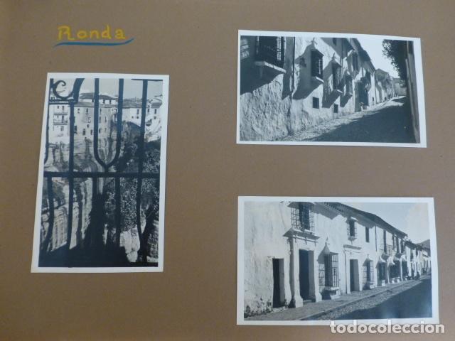RONDA MALAGA 3 FOTOGRAFIAS POR EMBAJADOR BRITANICO EN ESPAÑA JOHN BALFOUR (Fotografía Antigua - Gelatinobromuro)