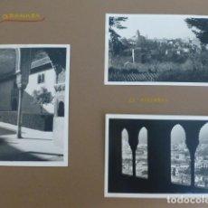 Fotografía antigua: GRANADA 5 FOTOGRAFIAS POR EMBAJADOR BRITANICO EN ESPAÑA JOHN BALFOUR 1951. Lote 155821370
