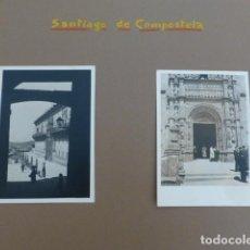 Fotografía antigua: SANTIAGO DE COMPOSTELA 7 FOTOGRAFIAS POR EMBAJADOR BRITANICO EN ESPAÑA JOHN BALFOUR 1951. Lote 155822086