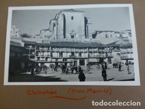 CHINCHON MADRID FOTOGRAFIA POR EMBAJARDOR BRITANICO EN ESPAÑA JOHN BALFOUR 1951 (Fotografía Antigua - Gelatinobromuro)